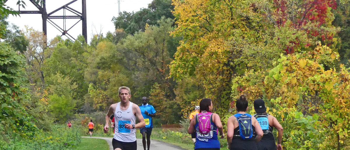 Permalink to: The Towpath Marathon – October 10, 2021